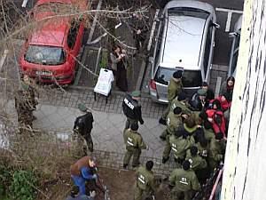 Räumung am Freitag durch die Polizei.